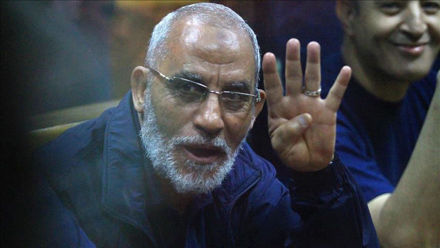 مصر حکم حبس ابدِ «محمدبدیع» را صادر کرد