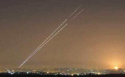 شلیک بیش از ۲۰۰ موشک از نوار غزه به شهرکهای صهیونیستنشین