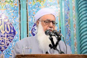 مولانا گرگیج خواستار برقراری نمازجمعه شهروندان اهل سنت در بجنورد شد