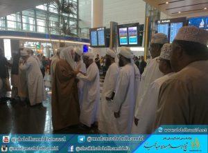 شیخالاسلام مولانا عبدالحمید وارد کشور عمّان شدند