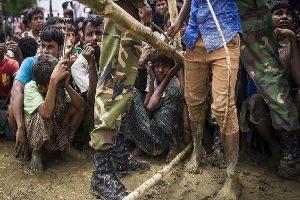 سرگردانی مسلمانان روهینگیا در مرز هند و بنگلادش