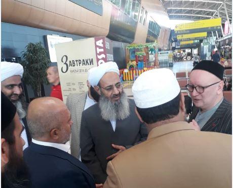 ورود شیخ الاسلام به جمهوری تاتارستان
