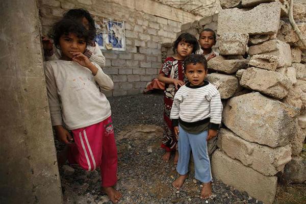 پنج میلیون کودک یمنی با خطر قحطی مواجه هستند
