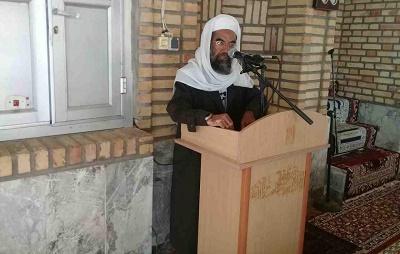 گزیدهای از سخنان مولانا سید عبدالکریم حسینپور در مراسم نماز جمعهٔ شهرستان اسدیه