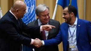 طرفهای یمنی دربارۀ بندر حدیده به توافق رسیدند