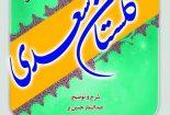 متن، شرح و توضیح گلستان سعدی